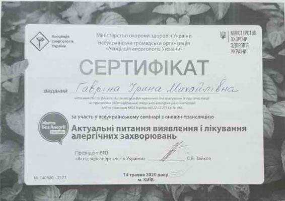 Гаврина Ирина Михайловна